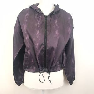NWT Material Girl Cropped Snakeskin Jacket Small